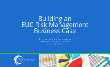 EUC Risk Management Business Case Template.