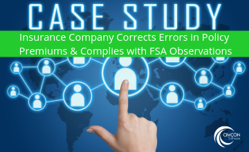 Top Insurance Company Corrects Errors in Policy Premiums and Complies with FSA Observations